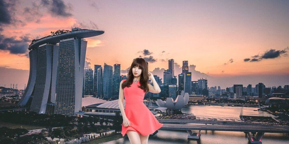 Get singapore girls in to where How to